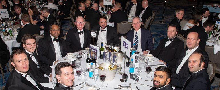 TSS Team at the Pipeline Industries Guild dinner 2018
